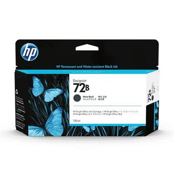 Product image for HP 72B 130Ml Matte Black DesignJet Ink - T770 / T790 / T795 / T1200 / T1300 / T2300