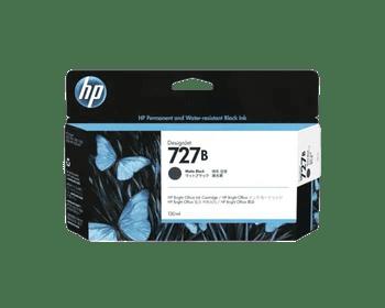 Product image for HP 727B 130Ml Matte Black DesignJet Ink - T920 / T930 / T1500 / T1530 / T2500 / T2530