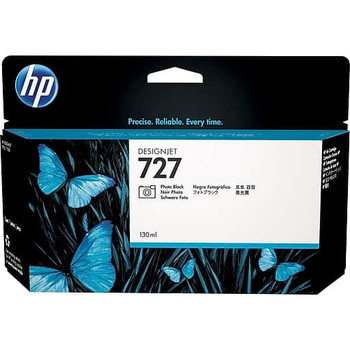 Product image for HP 727B 130Ml Photo Black DesignJet Ink - T920 / T930 / T1500 / T1530 / T2500 / T2530