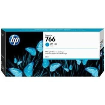 Product image for HP 766 300Ml Cyan DesignJet Ink Cartridge - Xl 3600