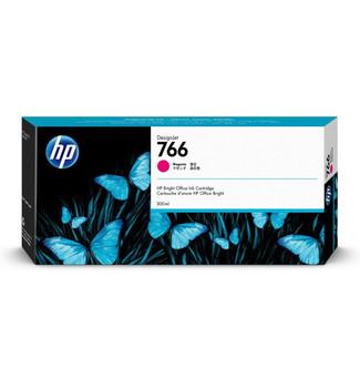 Product image for HP 766 300Ml Magenta DesignJet Ink Cartridge - Xl 3600