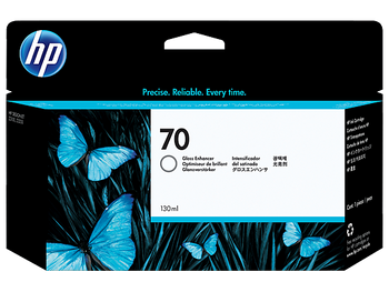 Product image for HP 70 130-Ml Gloss Enhancer Ink Cartridge - Z2100/3100/Z3200