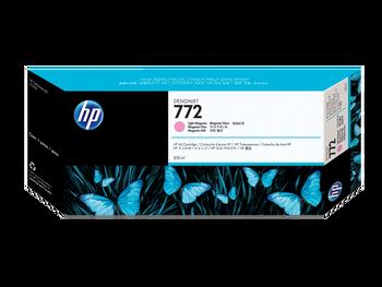 Product image for HP 772 300-Ml Light Magenta DesignJet Ink Cartridge - Z5200