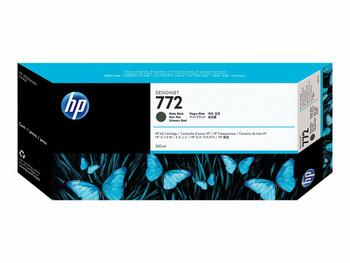 Product image for HP 772 300-Ml Matte Black DesignJet Ink Cartridge - Z5200 / Z5400