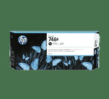 Product image for HP 746B 300Ml Photo Black DesignJet Ink - Z6 / Z9