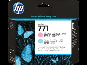 Product image for HP 771 Lt Magenta/Lt Cyan DesignJet Ph - Z6200/Z6800