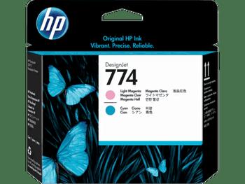 Product image for HP 774 Light Magenta/Light Cyan DesignJet Printhead - Z6810