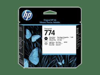 Product image for HP 774 Photo Black/Light Gray DesignJet Printhead - Z6810