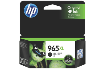 Product image for HP 965Xl Black Ink Cartridge High Yield 2K Pages