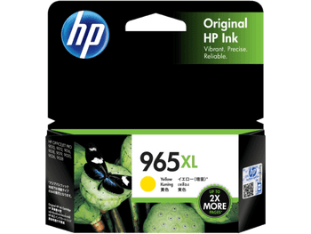 Product image for HP 965Xl Yellow Ink Cartridge High Yield 1.6K Pages