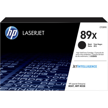Product image for HP 89X Black Toner - High Yield - Approx 10K Pages - For M507 - M528 Printers