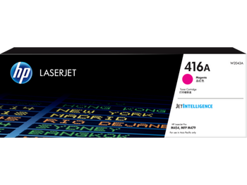 Product image for HP 416A Magenta Toner - Approx2.4K Pages - M454 - M479 - M455 - M480 Models