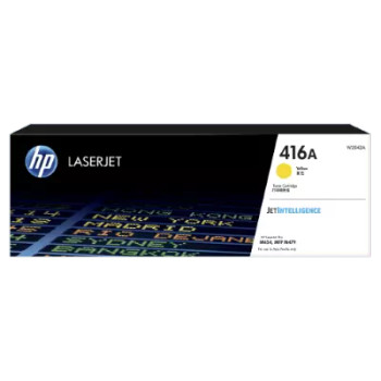 Product image for HP 416A Yellow Toner - Approx 2.1K Pages - M454 - M479 - M455 - M480 Models