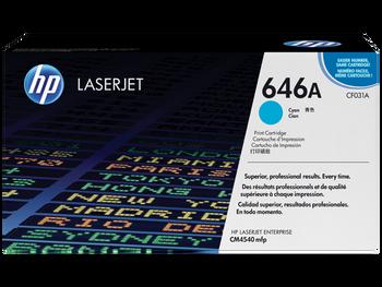 Product image for HP LaserJet Cm4540 Cyan Cartridge