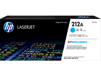 Product image for HP 212A Cyan Toner - Approx 4.5K Pages - For M554 - M555 - M558 Series