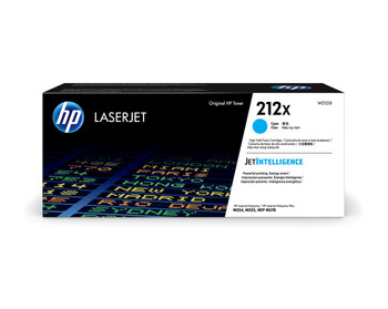 Product image for HP 212X Cyan High Yield Toner - Approx 10K Pages - For M554 - M555 - M558 Series