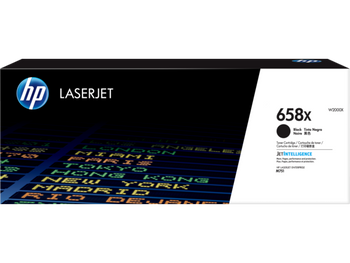 Product image for HP 658X Black LaserJet Toner Cartridge - High Yield - M751 Compatible
