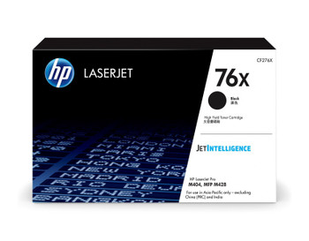 Product image for HP 76X Black Toner - High Yield. Approx 10K Pages - For M404 - M428 - M430 Mono Printers