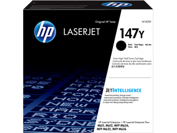 Product image for HP 147Y Black Toner - Extra High Yield Approx 42K Pages - For M610 - M611 - M612 - M634 - M635