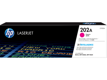 Product image for HP 202A Magenta Toner - M254 - M280 - M281 Compatible Printers