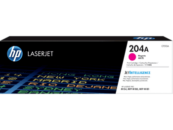 Product image for HP 204A Magenta Toner - Approx 900 Pages - For M154 - M180 - M181 Printers