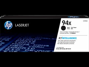 Product image for HP 94X Black LaserJet Toner Cartridge