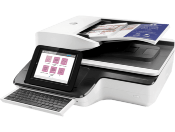 Product image for HP Scanjet Enterprise Flow N9120 Fn2 Document Scanner - A3 Size - Adf - Keyboard - 1YR
