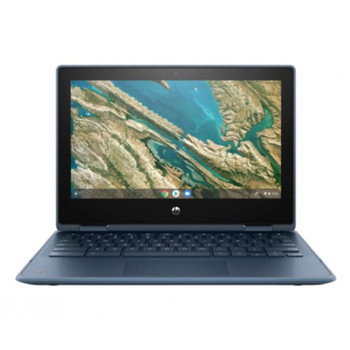Product image for HP Chromebook X360 11 G3 Ee Celeron N4020 8GB - 64GB - 11.6in - WiFi - Bl - Chrome Os 64 - 1YR