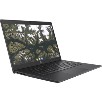 Product image for HP Chromebook 14 G6 Celeron N4120 8GB - 64GB - 14in FHD - Touch - WiFi - BT - Chrome Os - 1YR