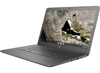 Product image for HP Chromebook 14A G5 A4-9120C 4GB - 32GB - 14in FHD - WiFi - BT - Chrome Os 64 - 1YR