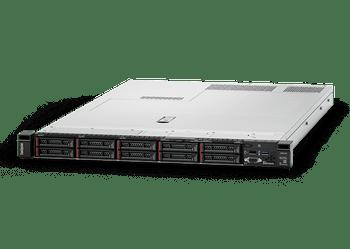 Lenovo ThinkSystem SR630 (1/2x Xeon Sil 4210 10C/20T 2.2GHz, 1/24x 16GB, 8/8x SFF HS, 530-8i 0GB RAID, 0x Network, XCC Ent, 1/2x 750W, 3 Yr Ltd Wty) Main Product Image