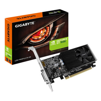 Gigabyte GeForce GT 1030 Low Profile D4 2GB Video Card Main Product Image