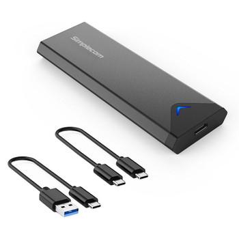 Simplecom SE509 NVMe M.2 SSD to USB 3.2 Gen 2 Type-C External SSD Enclosure Main Product Image
