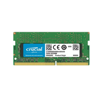 Crucial 32GB (1x 32GB) DDR4 3200MHz SODIMM Memory Main Product Image
