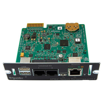 APC UPS Network Management Card 3 with Environmental Monitoring Main Product Image