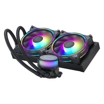 Cooler Master MasterLiquid ML240 Illusion ARGB AIO Liquid CPU Cooler - Black Main Product Image