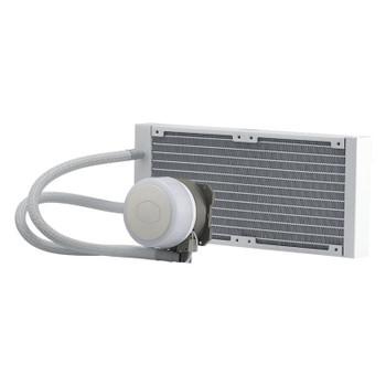 Cooler Master MasterLiquid ML240 Illusion ARGB AIO Liquid CPU Cooler - White Product Image 2