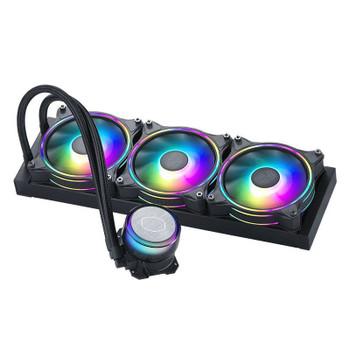 Cooler Master MasterLiquid ML360 Illusion ARGB AIO Liquid CPU Cooler Main Product Image
