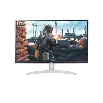 LG 27UP600-W 27in UHD 4K IPS VESA DisplayHDR™ 400 Monitor Main Product Image