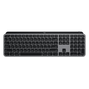 Logitech MX Keys for Mac Advanced Wireless Illuminated Keyboard - Space Grey Main Product Image