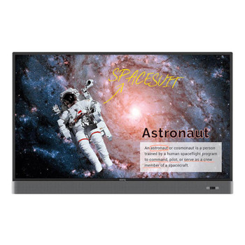 BenQ RM5502K 55in 4K Interactive Touchscreen Flat Panel Display Main Product Image