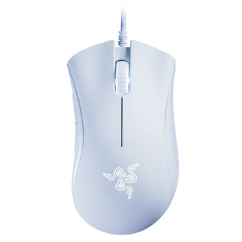 Razer DeathAdder Essential Ergonomic Wired Gaming Mouse - White Edition Main Product Image