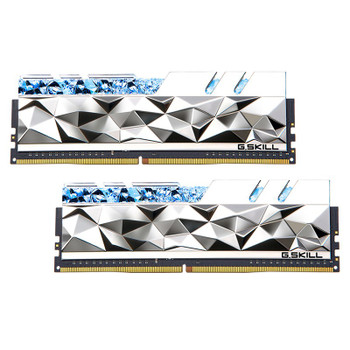 G.Skill Trident Z Royal Elite RGB 16GB (2x 8GB) DDR4 3600MHz Memory - Silver Main Product Image