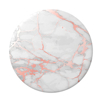 Popsockets PopGrip (Gen2) - Rose Gold Lutz Marble - White Main Product Image