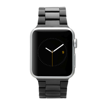 Case-Mate Linked Apple Watch band - For Apple Watch Series 4/5/6/SE 42-44mm - Black / Space Grey Main Product Image