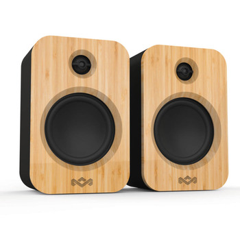 House of Marley Get Together Duo - Bluetooth Wireless Speakers - Black Main Product Image