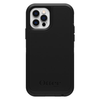 OtterBox Defender XT MagSafe Case - For iPhone 12 Pro Max 6.7 - Black / Black Main Product Image