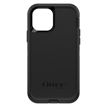 OtterBox Defender Series Case - For iPhone 12/12 Pro 6.1in Black - Black Main Product Image