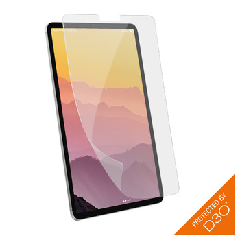 EFM ScreenSafe with D3O Screen Armour - For iPad Pro 12.9 - Clear / Black Main Product Image