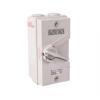 4Cabling Weatherproof Isolator 3 Pole IP66 440V  35A Main Product Image